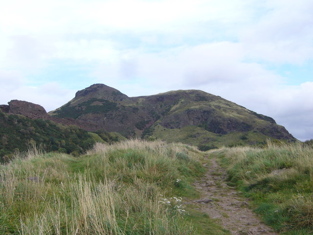 Arthur's Seat 'Lion' from St. Leonard's Bank