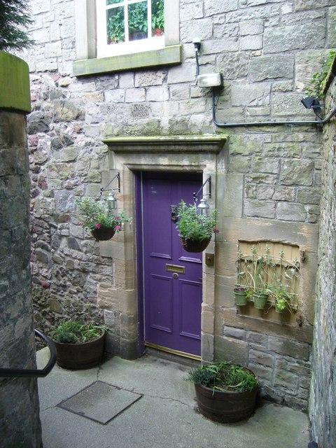 Doorway off St. Leonard's Lane
