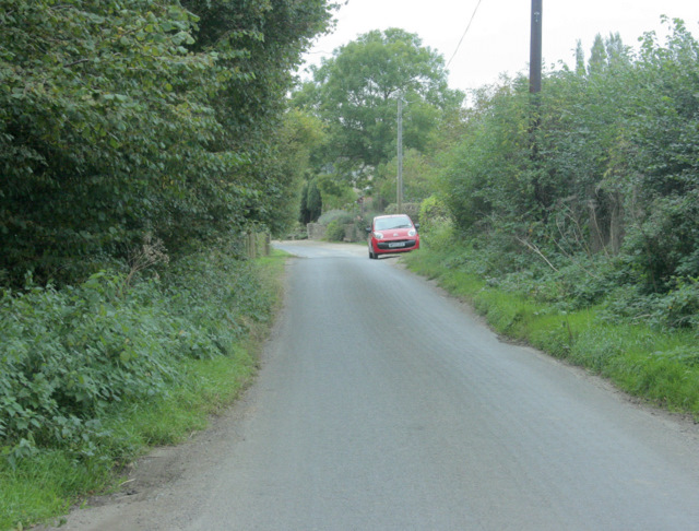 2009 : On the lane between Bremhill and Stanley