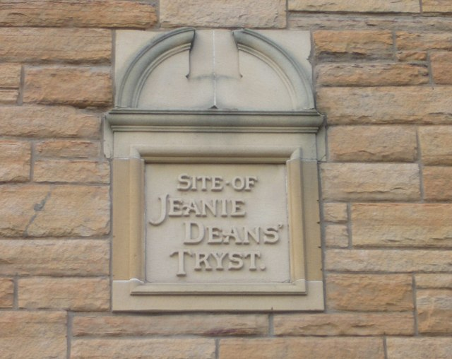 St. Leonard's Lane information tablet