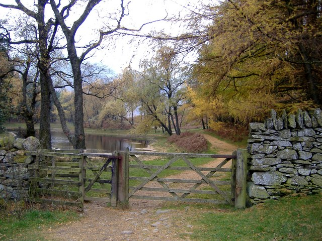 Gate to Lanty's Tarn