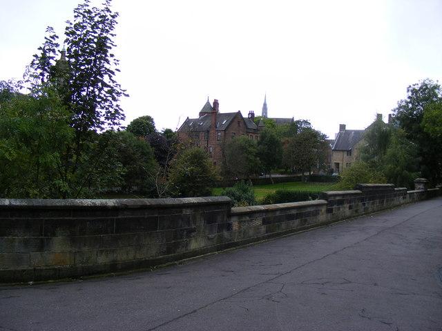 View from Necropolis, Glasgow