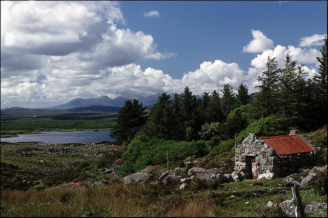 Loch an Doirin, Co Galway, Ireland