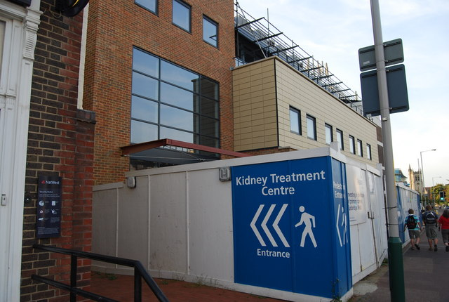 The new Kidney Treatment Centre, Kent & Sussex Hospital