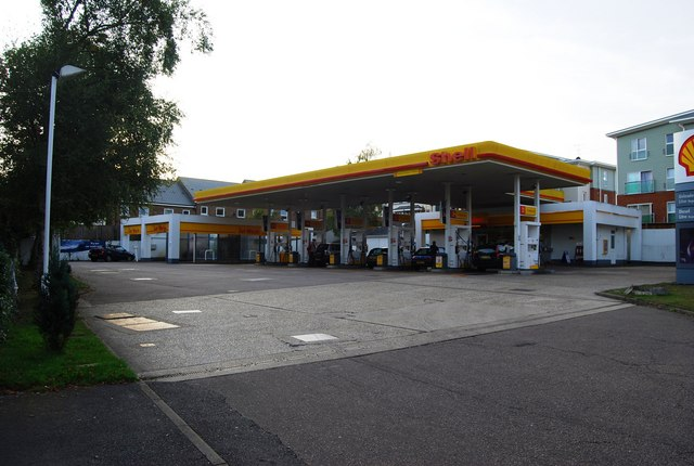 Shell Fuel Station, St John's Rd