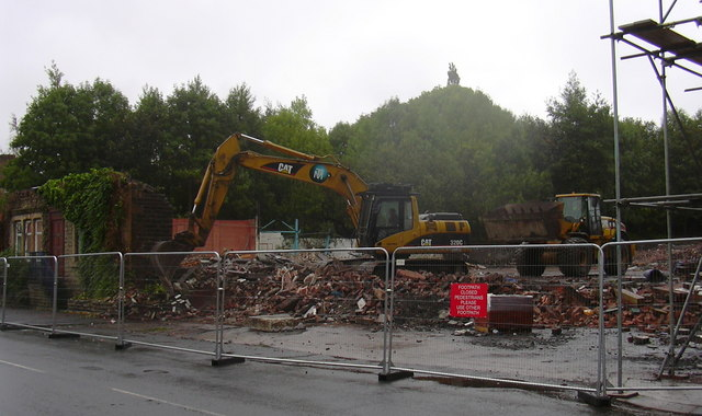 Demolition of Woodnook Mill