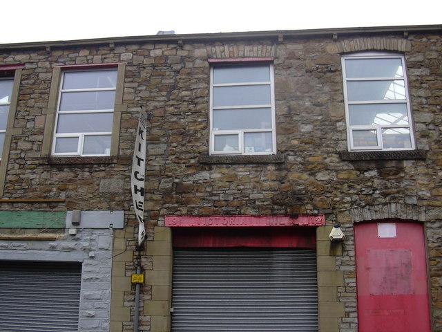Victoria Mill AD1912, Victoria Street, Accrington