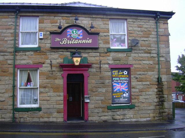 Britannia Inn, 36 Nuttall Street, Accrington, Lancashire, BB5 2HN