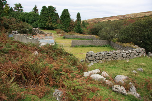 Sheepfold by the River Taw