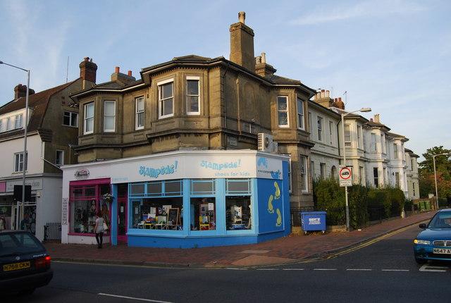 Stampede Shoe shop, St John's Rd