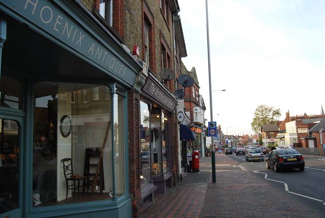 Shops, St John's Rd