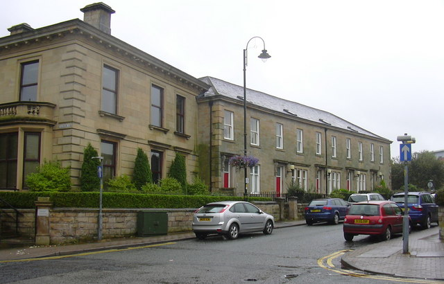 St James' Street from Cannon Street,Accrington