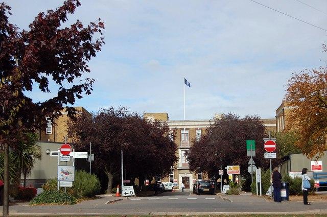 Southend Hospital Entrance