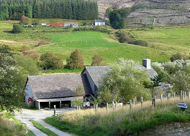 Dolgoch and Nantyrhwch, Cwm Tywi, Ceredigion