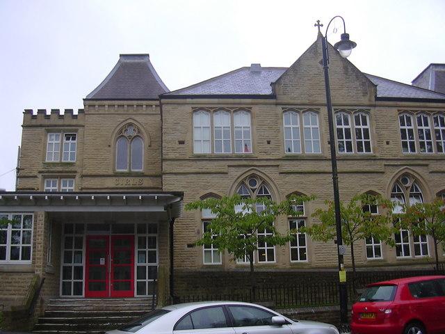St James' School, Cannon Street, Accrington