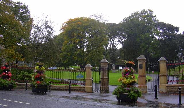Oak Hill Park, Manchester Road Entrance