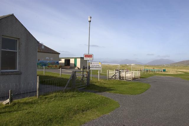 Entrance to Sheileboist primary school