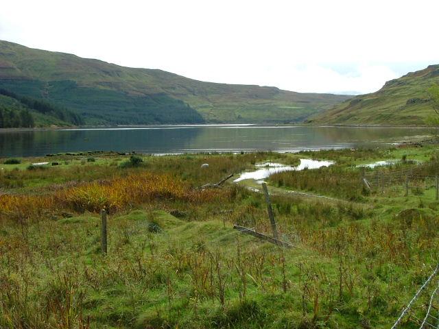 The head of Loch Eynort