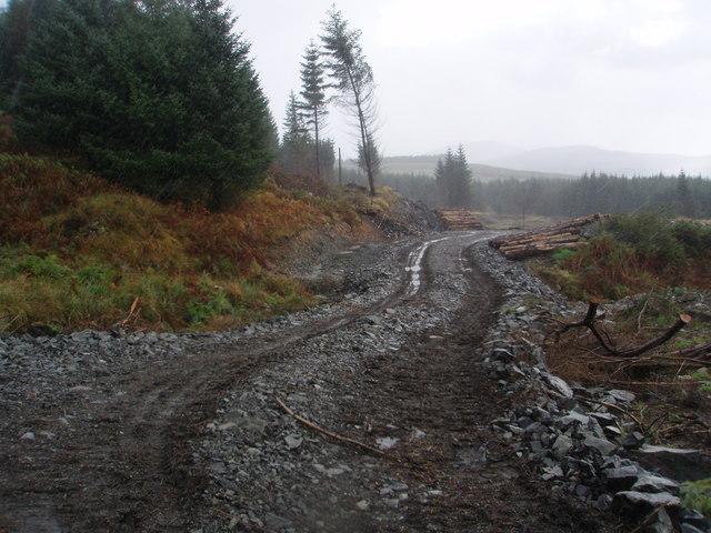 Track ending near Dernscloy