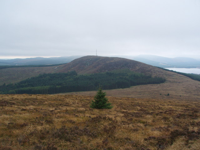 Benniguinea from the NW shoulder of Cairnsmore of Dee