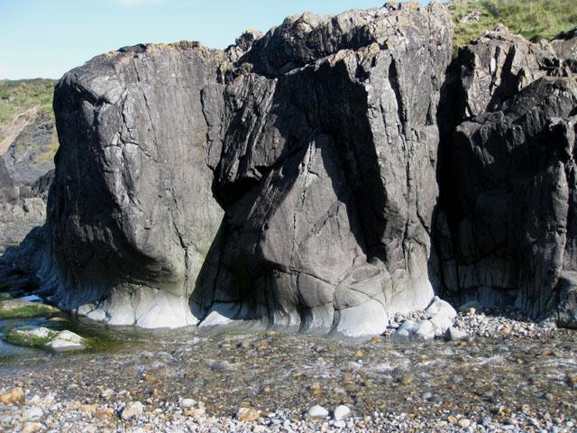 Water-worn rocks, Aber Draw