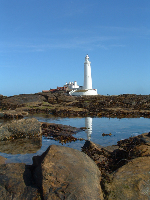 St Mary's lighthouse, near Whitley Bay
