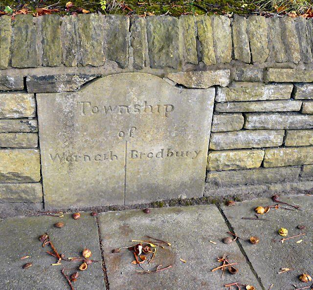 Werneth Bredbury Boundary Stone