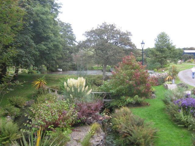 Domestic garden at Roch Bridge
