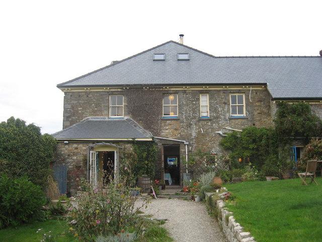 Druidston Hotel from the back garden