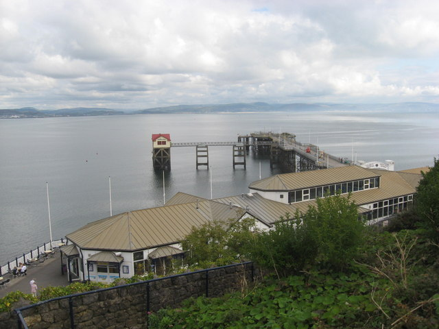 Mumbles Pier and former station