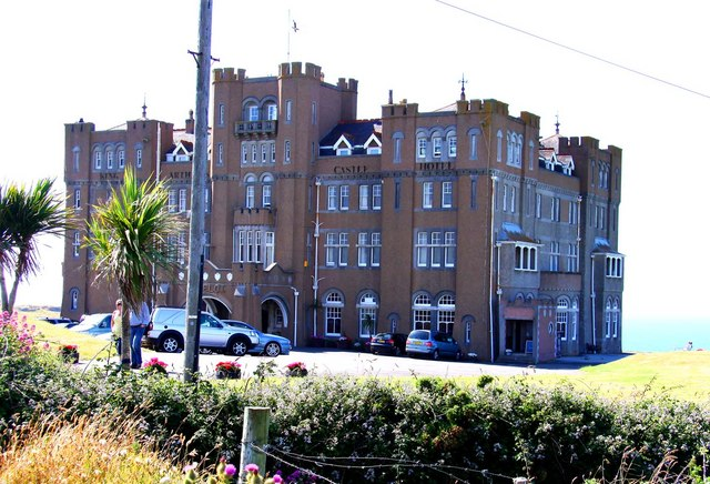 The King Arthur Castle Hotel in Tintagel