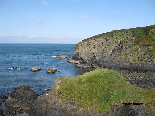 View NW from the Pembrokeshire Coast Path