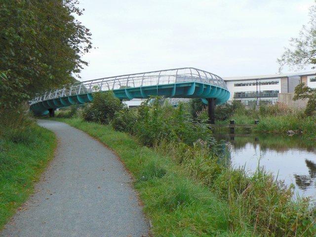 Old canal, new bridge