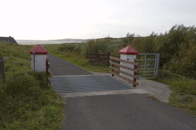 Gateway and cattle grid, Losgaintir