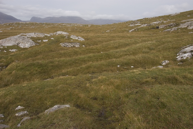 Ancient lazy beds above Aird Grothadnais