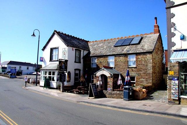 The King Arthur's Arms Inn on Fore Street