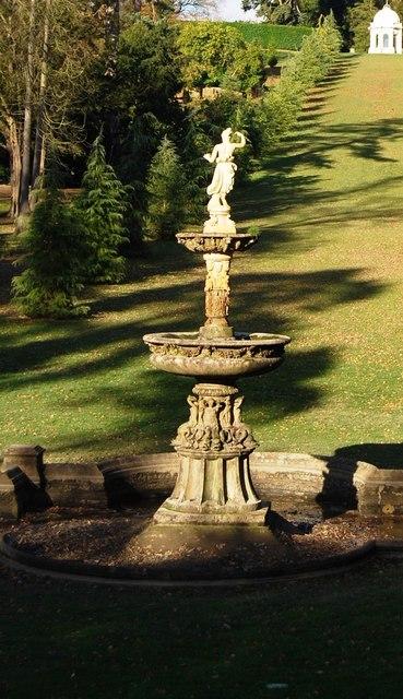 Victorian Fountain, Dunorlan Park