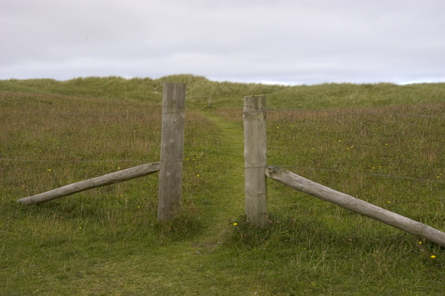 Gateway to the dunes, Traigh na Beirigh