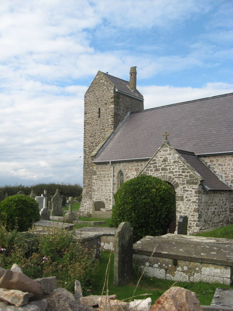 The Church at Rhossili