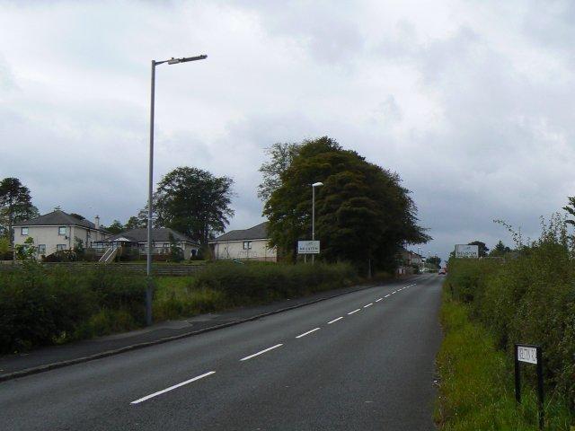 Entry to Neilston