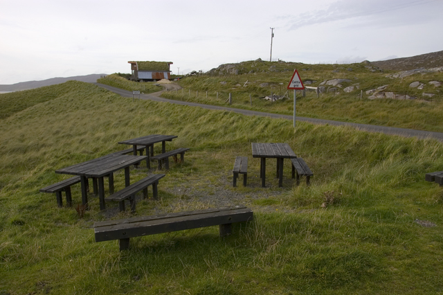 Picnic site and Eco-house at Traigh Losgaintir