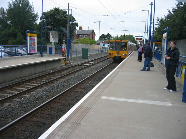 Kenton Bank Foot Metro Station