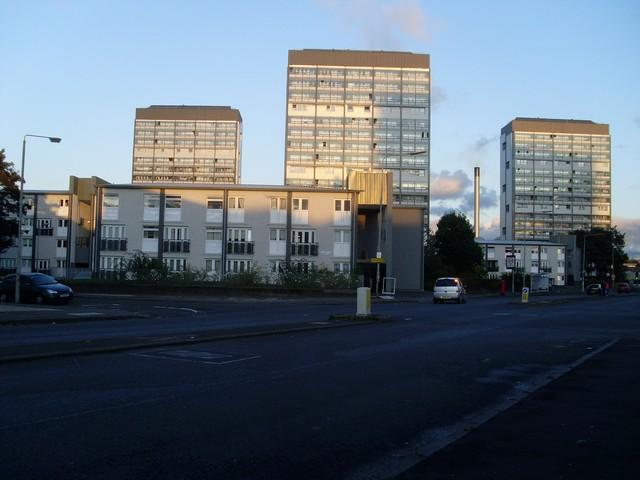 Hutchesontown flats