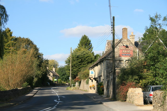 The Masons Arms, Fulbrook