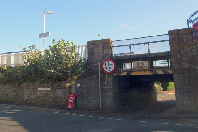 Railway Bridge at South Street, Monifieth