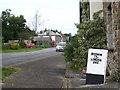 SW8950 : Milestone in Ladock village by Rod Allday