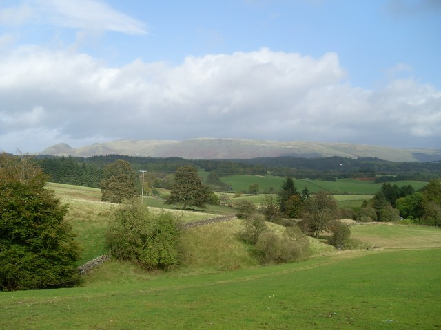 View to Campsie Fells from near Tambowie