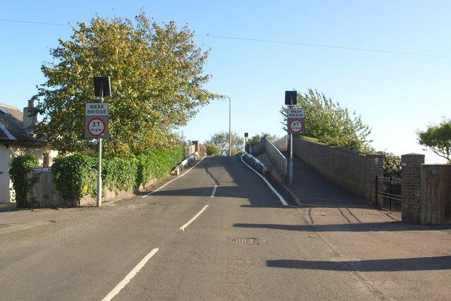 Railway Bridge at Bridge Street, Barnhill