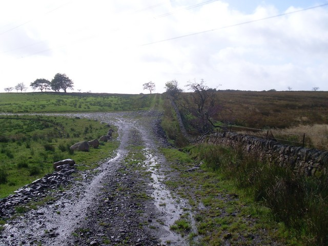 The bend in the path to Faifley