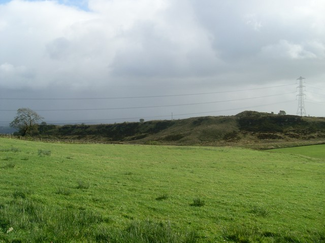 The northern edge of Douglas Muir Quarry